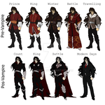 .: Drakul Clothes Reference Sheet :. by JoanDark