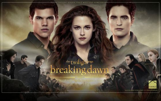 Breaking Dawn Part 2 Wallpaper by esme-libra