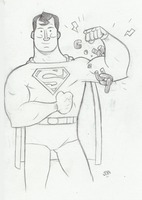 Superman! by CalamityJon