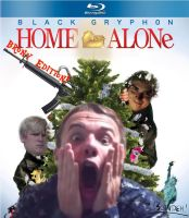 Black Gryph0n Home Alone by TheBlondeh