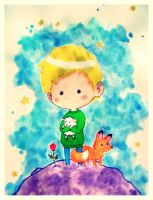 The Little Prince by Susutastic
