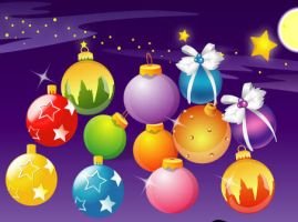 Vector Christmas Ball by VectorDownload