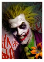 the joker by ryanbrown-colour