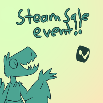 Steam Sale Event by Madvenomjack