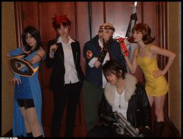 Final Fantasy Cosplayers by GriffSGirl