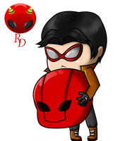 Jason Todd Chibi by RisingDiablo