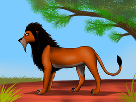 The Lion King: Scar by Suomen-Ukonilma
