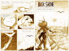Duskshine - Page 1 and 2 by tcat