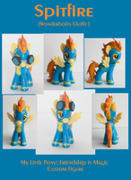 :: Spitfire in Uniform :: MLP:FiM Custom Sculpt by alltheApples