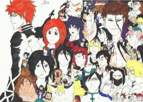 Bleach All-Stars by Tommo2304