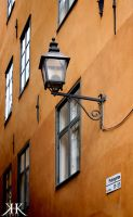 Lamp in Gamla Stan by Paivatar