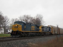 CSX AC44CW's by LDLAWRENCE