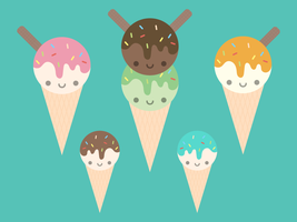 Ice-Creams by apparate