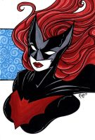 Batwoman Headshot8 by RichBernatovech