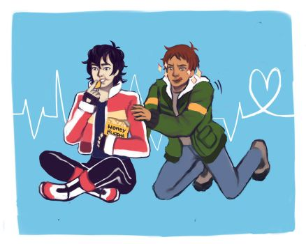 Klance Snacking by blythewhimsy