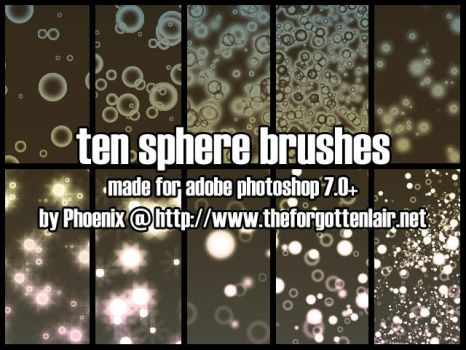 Sphere Brushes by Red-Eclipse
