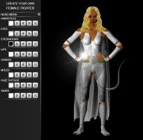 Stormless - Create a female fighter by molim by Nightphoenix2