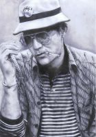 Hunter S Thompson by Mizz-Depp