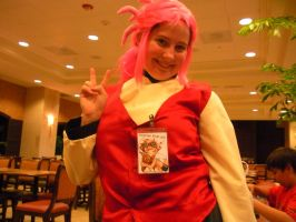 Metrocon 09: Washu for peace by Rose-Vicious