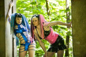 Cyber goth by PoisonCandyy