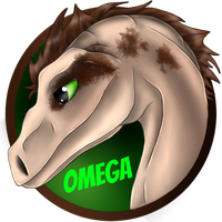 Omega - OC Badge by WhenBooksFly101