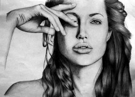 Angelina Jolie finished by brodx