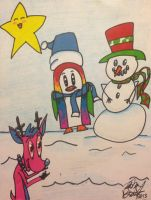 A Very Psychedelic Christmas by creecreehoneybees