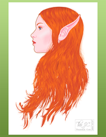 Elvish Profile by AsraiLight