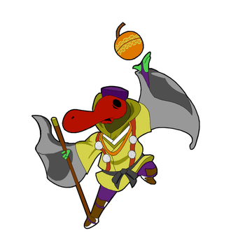 Yamabushi Plague Knight [Basic Color] by KitsuneHawk