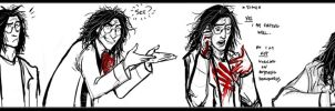 follow the blood stains expressive sketchdump by sigeel