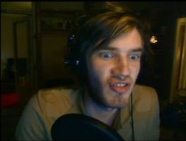 PewDie Fishy Face by Invader-Kess