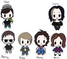 Game Grumps Chibi Original, newer version in desc by Bloody-Uragiri