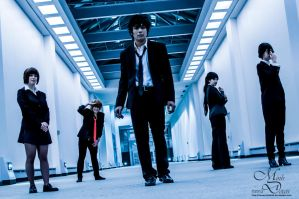 Psycho-Pass - The Unit by maverickdelta
