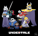 Undertale Crew by TC-96