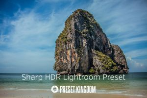 Free Sharp HDR Lightroom Preset by presetkingdom