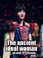 Yesung - Ancient Ideal MACRO by JadeRiverJR