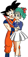 Goku and Bulma - Kame Uniform by RisanF