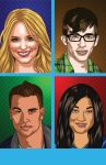 GLEE - Cast of Glee Box 2 by BrentJS