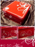 Cute Metal Cookie Box by Akino-K