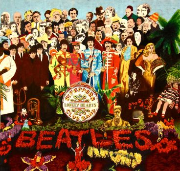 Sgt Pepper's Lonely Hearts Club Band by rochafeller