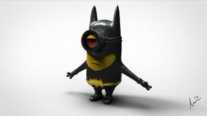 Batman Minion by Shadowl360