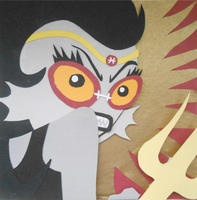 Feferi Papercraft by koreandrawer