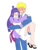 NaruHina: Happy Halloween by DemonKaizoku
