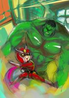 Rough sketch23 - Hulky  Viewty by ultimatewp