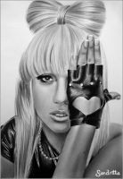 Lady Gaga by sandritta88