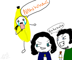 Evo and Freinds - Kill the Banana by Inuyashafan001