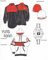Yung Ronin Clothing Set 3 by KolBrez