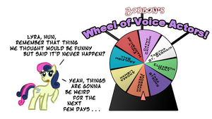 Bonbon's WHEEL OF VOICE ACTORS!!!11 by feather-chan