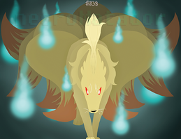 Ninetales Print Preview by CheshireCatGrin