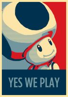Toad affiche politique by Negroud
